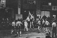 Game between Estonia and Lithuania at EuroBasket 1937