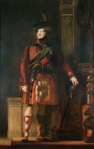 Portrait by Sir David Wilkie depicting the King during his 1822 trip to Scotland