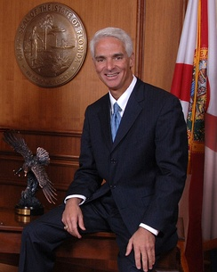 Crist's official portrait as Governor