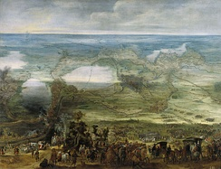 Painting of the siege of Breda in 1624