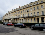 Nos 13 to 47, Lansdown Crescent and attached area railings