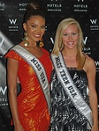 Crystle Stewart, Miss USA 2008 and Stevi Perry, Miss Teen USA 2008