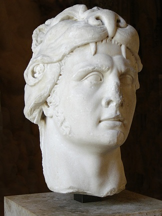 Bust of Mithridates VI from the Louvre