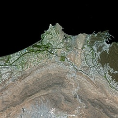Muscat by SPOT Satellite