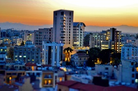 View of Nicosia Financial Quarter