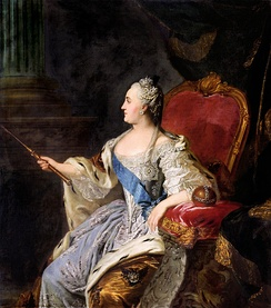 Empress Catherine the Great, who reigned from 1762 to 1796, continued the empire's expansion and modernization. Considering herself an enlightened absolutist, she played a key role in the Russian Enlightenment.