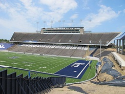 Rice Stadium, Press Box Side 2016