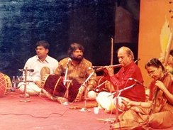 N. Ramani and N Rajam accompanied by T S Nandakumar
