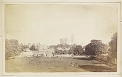 View of Durham Cathedral and its surroundings c.1850