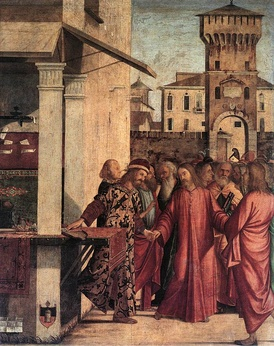 The Calling of Matthew by Vittore Carpaccio, 1502