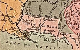 East Florida and West Florida in British period (1763–1783)