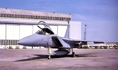 First F-15A arrives at Langley AFB, January 1976