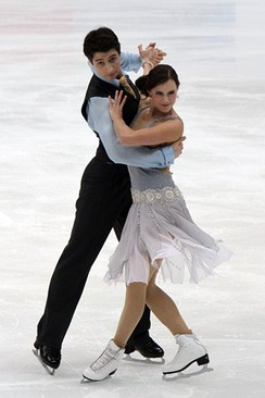 Virtue and Moir at 2011 Four Continents
