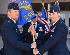Squadron change of command June 1, 2018