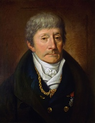 Portrait of Salieri by Joseph Willibrord Mähler