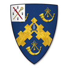 Coat of Arms of Samuel Peploe