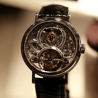 A Breguet squelette watch 2933 with tourbillon