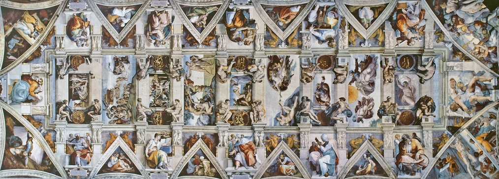 The Sistine Chapel Ceiling (1508–1512)