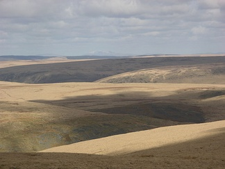 The Desert of Wales seen from Drygarn Fawr