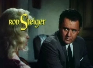 Steiger with Diana Dors in The Unholy Wife (1957)