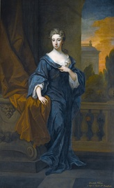 Elizabeth Pelham (1681–1711), first wife of Charles, painted by Godfrey Kneller (late 1690s)