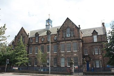 Flora Stevenson School, Comely Bank Edinburgh by John Alexander Carfrae
