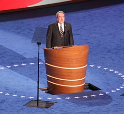 Butterfield speaking at the 2012 Democratic National Convention