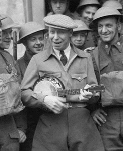George Formby, Jr in France during WWII