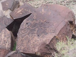 Greaser Petroglyph SiteLake County