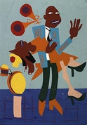 Image by William H. Johnson, born Florence, SC 1901-died Central Islip, NY 1970
