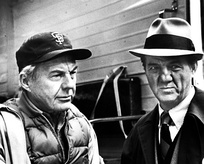 "Malden (right) as Mike Stone, with David Wayne as Wally Sensibaugh in ""In the Midst of Strangers"" (Season 1, Episode 8)"