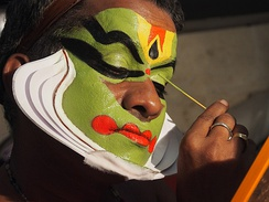 Kathakali Make Up