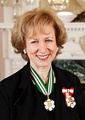 Kim Campbell PC CC OBC QC, BA 1969, Canada's 19th Prime Minister, and the first female to serve in the office
