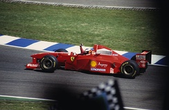Ferrari finished second in the Constructors' Championship with the F310B.