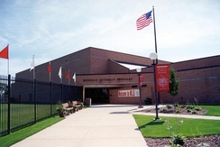 Michigan Lutheran Seminary is the only private high school in Saginaw