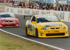The Garry Rogers Motorsport Monaros at the 2003 Bathurst 24 Hour