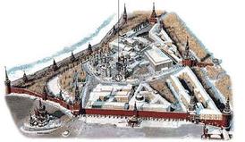 Современное местоположение пушки в Кремле