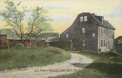 Old Pratt House in 1908
