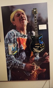 The Carlos Santana exhibit in the Artist Gallery of the Musical Instrument Museum of Phoenix