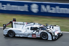 LMP1 cars have become a popular destination for retired F1 drivers, in this example Mark Webber