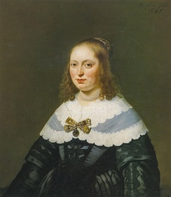Bartholomeus van der Helst, Sophia Trip (1645), a member of one of the wealthiest families in Holland.[27]