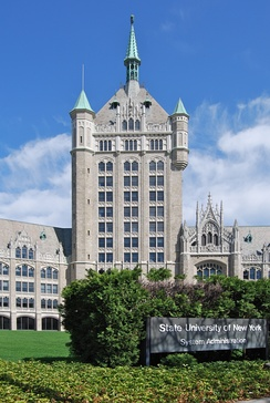 "SUNY System Administration Building ""The SUNY Castle"" in Albany"