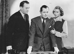 With George Sanders and Robert Montgomery in Rage in Heaven (1941)