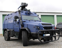 Sonderwagen 5 of the Saxony State Police