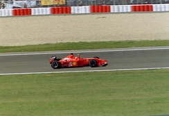 Ferrari won their third consecutive Constructors' Championship with the F2001.