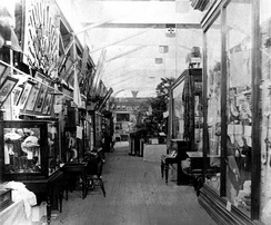 Fine Arts on display at the first Queensland Intercolonial Exhibition, 1876