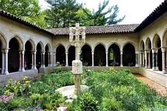 Photo of the interior of the Cloisters