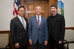 The Edge with US Deputy Secretary of Agriculture Stephen Censky and Angiogenesis Foundation co-founder Dr. William W. Li