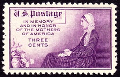 Whistler's Mother Issue of 1934