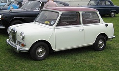 The 1961–69 Wolseley Hornet was based on the Mini.